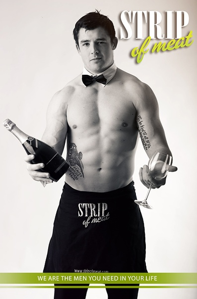 Sam - Topless Waiter Wellington